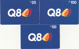 Gift Card Italy Q8 Complete Set - Gift Cards