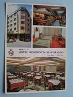 *** Hotel Residencia MAYORAZGO Flor Baja 3 ( Pueyo Madrid ) Anno 19?? ( Voir / Zie Photo ) ! - Madrid