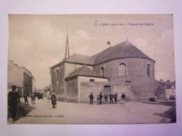 LIGNE  (Loire-Atlantique)  :  Chevet De L'Eglise   1932   - Ligné