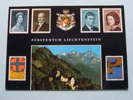 Fürstentum LIECHTENSTEIN ( Timbres / Stamps / Briefmarken ) ( Rud. Suter ) Anno 19?? ( Voir / Zie Photo ) ! - Liechtenstein