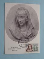 Marceline DESBORDES-VALMORE 1876 - 1859 ( Premier Jour 20 Juin 1959 DOUAI ) N° 001643 ( Carte Philatélique ) ! - Douai