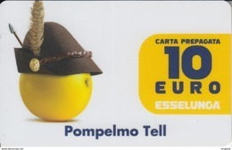 Gift Card Italy ESSELUNGA - Scad.2018 - Pompelmo Tell - Gift Cards
