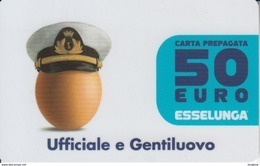 Gift Card Italy ESSELUNGA - Scad.2018 - Ufficiale E Gentiluovo - Gift Cards