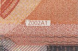 50 EURO BELGIUM  ZB  Z002 A1  FIRST POSITION - DRAGHI   UNC - EURO