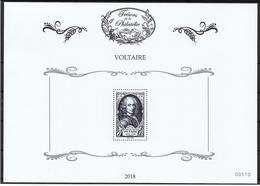 France 2018 - Trésor De La Philatélie' Le Bloc 'Voltaire'  ** - Sheetlets