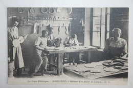 88 :  Mirecourt - Intérieur D'un Atelier De Lutherie - Mirecourt