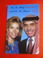 H.M.King Hussien And H.M.Queen Noor.RETOUR - Jordan