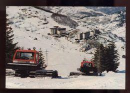 B6434 LIMONE PIEMONTE - CENTRO TURISTICO DEL COLLE DI TENDA CON GATTO DELLE NEVI - Italia