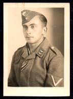 B7480 - Adolf Krum - Glems - Kr. Reutlingen - Porträt Offizier Uniform Abzeichen Luftwaffe Kokarde -  2. WK WW - Guerre 1939-45