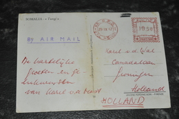 3387- Somalia  Somalie, Tungi - To Holland With Stamp From Pakistan - 1967 - Somalië