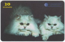 CHILE A-055 Prepaid Chisat - Animal, Cat - FAKE - Chile