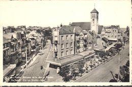 CPA - Belgique - Flandre Occidentale - La Panne - Avenue De La Mer Et Bortier - De Panne