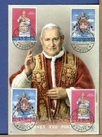 VATICANO - INCORONAZIONE PAPA GIOVANNI XXIII - Maximum Cards