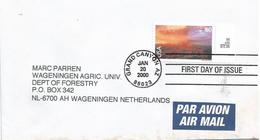 USA 2000 Grand Canyon UNESCO World Heritage Site Cover - Ersttagsbelege (FDC)