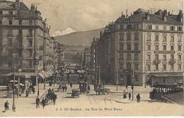 Genève - La Rue Du Mont Blanc - GE Ginevra