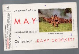 Saint Maur (94 Val De Marne) Buvard MAY  Davy Crockett N°14 (PPP9370) - Food