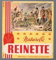 Vanves (92) Buvard BISCOTTES REINETTE  Napoléon (PPP9372) - Biscottes