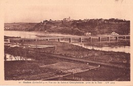 CPA - Vue Sur La Loire Et Champtoceaux Prise De La Tour L W  4275 - OUDON 44 Loire Inf. - N° 22 - Edit. F. Chapeau Nan - Oudon