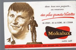 Buvard CAFE MOKALUX  : Bourvil  (PPP9374) - Coffee & Tea