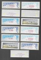 Lot Vignettes Adhesives De Distributeurs - Frankeervignetten (ATM)