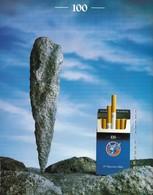 Ancienne Publicité Papier - Advertising Paper -  Gauloises Light - Publicidad