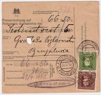 1917, Postanweisung, Bedarf!  , #a1040 - Bosnië En Herzegovina