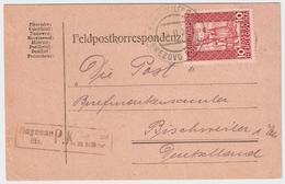 1917, EF Nach Elsaß, Zensur-Stp.  , #a1041 - Bosnien-Herzegowina