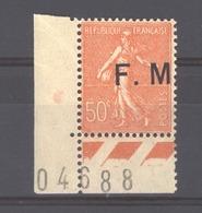 06817  -  France  -  FM  :  Yv   6a  **  Variété : Sans Point Après Le M - Franchise Stamps