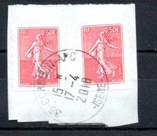 FRANCE  OB  N° 36 - KlebeBriefmarken