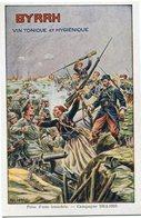 """FRANCE CARTE POSTALE MILITAIRE NEUVE    """" BYRRH """" (PRISE D'UNE TRANCHEE  -CAMPAGNE 1914-1916) - Militaria"""