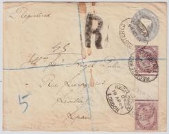 1894, Steg-Paar Auf Brief, Unikat!!    , #a1043 - Briefe U. Dokumente