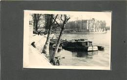 PARIS- Bords De Seine,pont Louis Philippe,pointe De L'île Saint Louis,années 60 ( Photo Format 9,6cm X 6,5cm). - Places