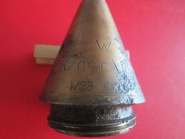 Fusée D'obus Allemande EKzdr NA F Spgr  4/38 Inerte - Armi Da Collezione