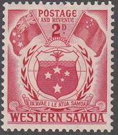 SAMOA     SCOTT NO.  205      MINT HINGED      YEAR  1952 - Samoa