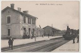 CPA 44 NOZAY La Gare - France