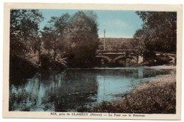 58 - Nièvre / RIX Près De CLAMECY -- Le Pont Sur Le Beuvron. - France