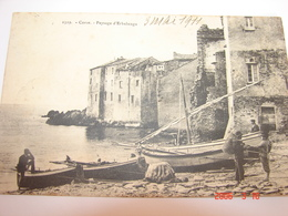 C.P.A.- Erbalunga (20.2A) -  Paysage Et Arrivée De Pêcheurs - 1911 - SUP (AX 71) - France