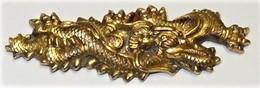 Menuki Dragon De Katana - Armes Blanches