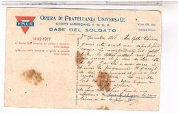 ITALIE  MILANO  Y M C A 1918 - Milano (Milan)