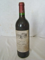 """Bouteille De 75 Cl. """" PAUILLAC """" """" Chateau Tour Pibran """" Année 1990 - Vino"""