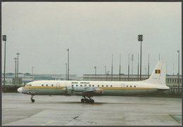 Air Mali Ilyushin IL-18 TZ-ADF - APC Publications Postcard - 1946-....: Modern Era