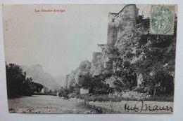 LA HAUTE ARIEGE - TARASCON - TOUR MADRILLE - France