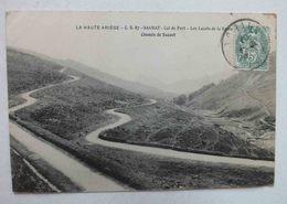 LA HAUTE ARIEGE - CS 87 - SAURAT - COL DE PORT - LES LACETS DE LA ROUTE - CHEMIN DE SAUZET - France