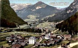 Canazei Im Fassatale Gegen Rosengarten U. Durontal - Dolomitenstrasse, Tirol (468) - Non Classificati