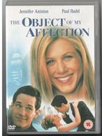 DVD The Object Of My Affection Jennifer Aniston Paul Rudd - Comedy