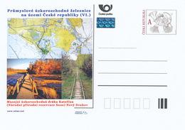 Rep. Ceca / Cart. Postali (Pre2015/29) Ferrovie A Scartamento Ridotto (VI) Catherine, Riserva Naturale Nazionale SOOS(1) - Fabbriche E Imprese