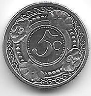 *netherlands Antilles  5  Cents  1997  Km 33    Bu - Netherland Antilles