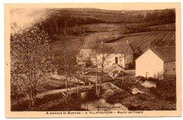 58 - Nièvre / VILLAPOURCON -- Moulin De Fragny.(Collection Roubé - A Travers Le Morvan N° 4). - Autres Communes