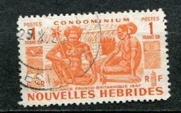 NOUVELLES HEBRIDES - Yv. N° 152   (o)  1f  Indigènes  Cote  12,5  Euro BE  2 Scans - French Legend