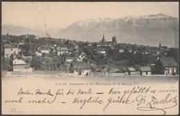 Lausanne Et Les Montagnes De La Savoie, Vaud, 1903 - Jullien Frères CPA - VD Vaud